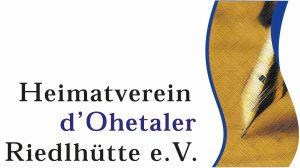 Logo Heimatverein d Ohetaler Riedlhütte e.V.